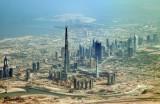 Burj Dubai and Sheikh Zayed Road, May 2008