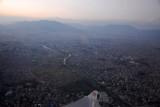 Departing Kathmandu, Nepal