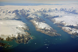 A pair of fjords, Iluiteq, Greenland
