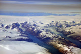 Glaciers and fjords, southeast Greenland (N60 55.57/E043 30.53)