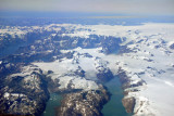 Glaciers and fjords, southeast Greenland