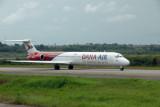 Dana Air MD-80 (5N-SAI) at Lagos, Nigeria
