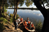 Boat tour on the Kafue River from Puku Pan