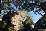 Boulders in the shade of trees, Puku Pan