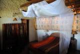 Inside a chalet at Puku Pan Safari Lodge