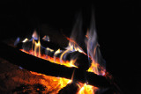 Campfire at McBride's Camp