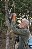 He's hoping to catch a photo of Phantom, a big male that lives south of the camp