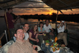 Sundowner cruise with Chris McBride