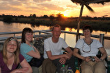 Sundowner cruise with - Stephanie, Anna, Johannes, Nicole