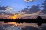 Sunset, Kafue River