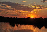 Sunset, Kafue River