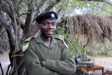 Kafue park ranger, Zambia Wildlife Authority