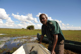 Guide from the Kasanka Trust which operates Shoebill Island Camp