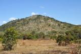 Hill along the road from the airstrip at Shiwa Ngandu to Kapishya Hotsprings