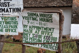 Shiwa House visiting hours - 9-11 am by appointment, US$20 per person