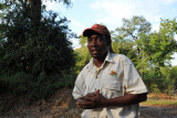 Philemon, our knowledgeable guide at Wildlife Camp
