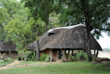 Restaurant and Bar of Wildlife Camp, South Luangwa