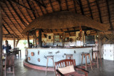 The bar at Wildlife Camp