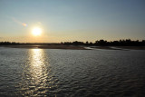 Nearing sunset, Luangwa River
