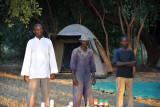 Staff of Wildlife Camp's bush camp
