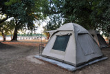 One of the Bush Camp's tent