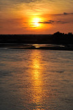 Sunset at the Bush Camp, Luangwa River
