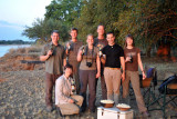 The Germans - Reinhold, Nicole, Ralph, Stephanie, Johannes, Christian, Anna