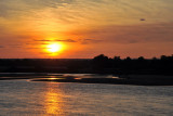 Sunset, Luangwa River