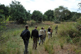 Walking safari - group minus 1