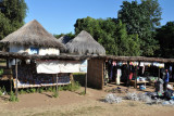 Roadside market stalls, Mfuwe