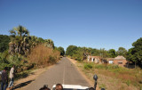 The road to Mfuwe Airport