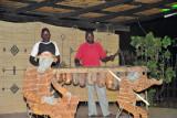Entertainment at the Ngoma Zanga African Restaurant