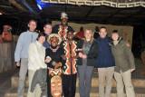 Group photo with the staff, Ngoma Zanga African Restaurant