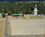 Departing Livingstone, Zambia (FLLI) for Puku Pan, Kafue National Park, 157 nm to the north