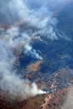Bushfires, southwest Zambia