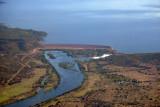 Itezhi Tezhi Dam, built 1974-1977 on the Kafue River