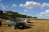 The lodge was nice enough to mow the airstrip for us since we were the first aircraft of the season