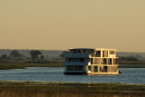 Large Namibian houseboat, Chobe River