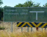 Kasane to Francistown - 489 km