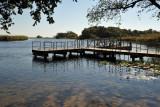 Dock on the Okavango River, Seronga