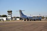 Air Botswana ATR (A2-ABS) at Kasane Airport