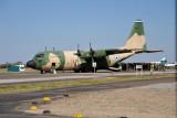 Botswana Defence Force C-130 Hercules at Kasane Airport