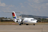 South African Airlink BAe-146 at Ndola, Zambia