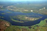 Island in the Lower Zambezi River