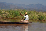 The people of Inle Lake are much more pleasant than the people of Ganvié in Bénin