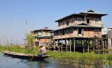 Kay Lar Ywa stilt village,Inle Lake
