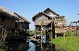 Stilt village, Inle Lake
