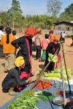 Hill Tribe women at the Indein Market