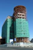 Eliakim Namundjebo Plaza Hotel under construction