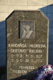 Heroes Acre - Kandanga-Hilukilwa Gertrud 'Rikumbi' (1937-2002)